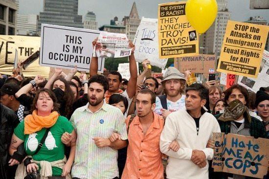 Adrian Kinloch. Wall Street Protest 2011