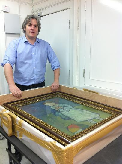 Barnaby Wright, curator