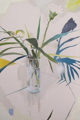 Carnation/White Room 2012 Oil on canvas 35 ½ x 24 in / 90 x 60 cm