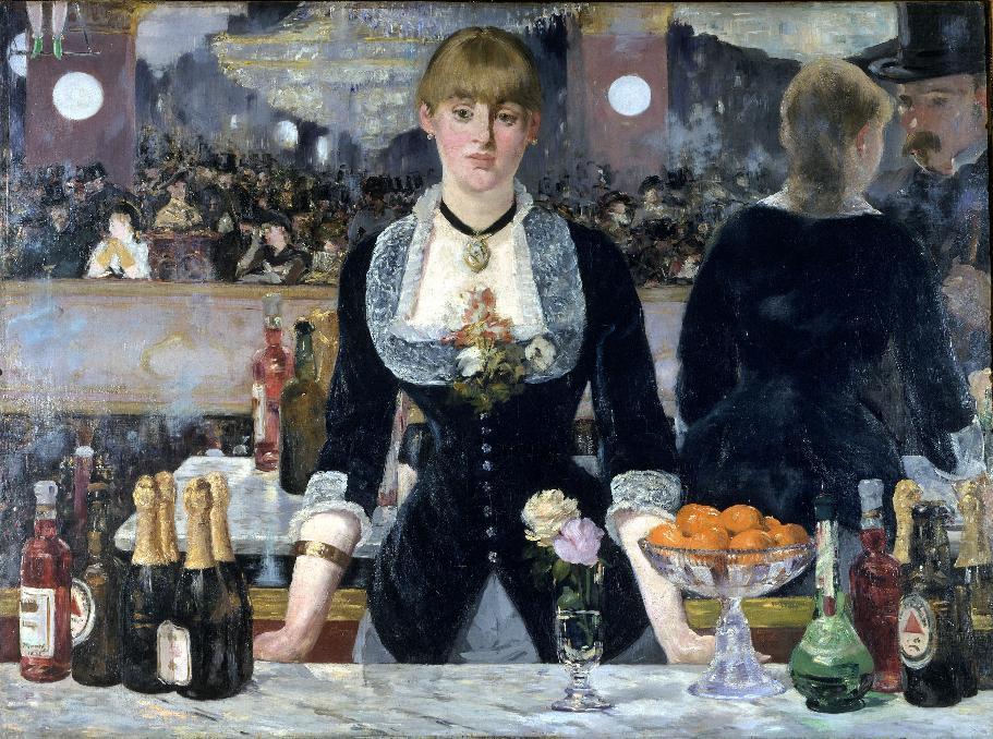 A Bar at the Folies Bergere
