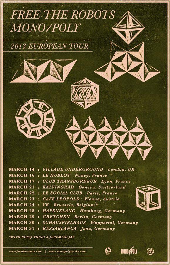 Mono / Poly European Tour 2013