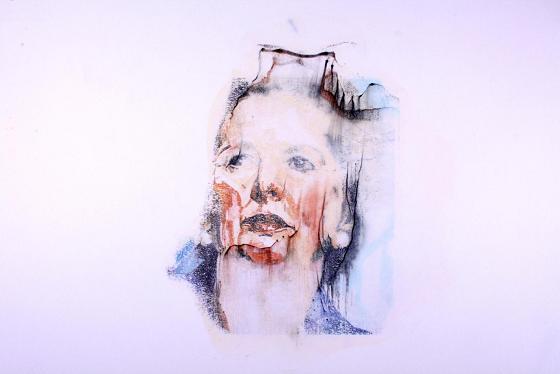 Margaret Thatcher painting