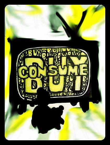 Buy, consume, buy