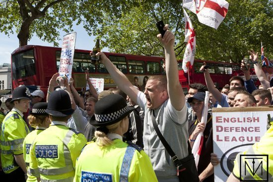EDL and police
