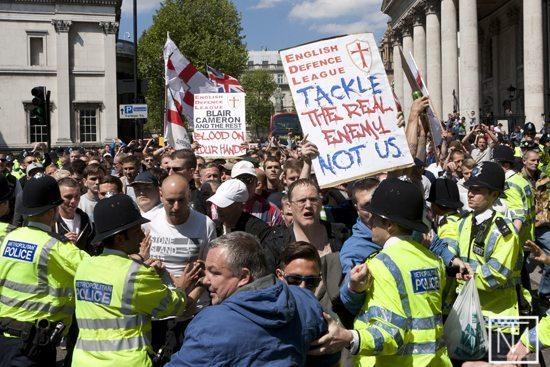 EDL Trafalgar Square