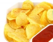 A picture of crisps