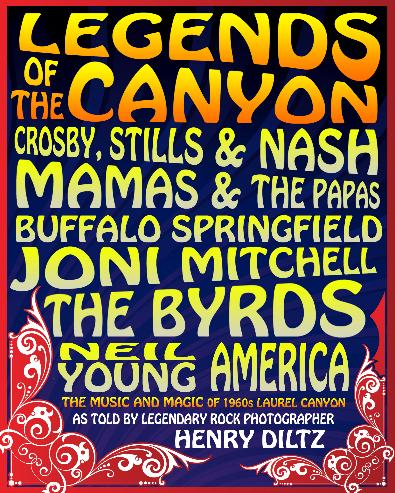 A poster for Legends of the Canyon