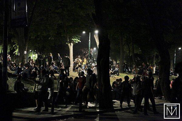 Inside Gezi Park