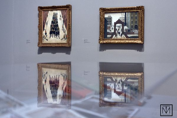 Pictures by LS Lowry