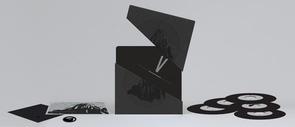 A picture of the Erased tapes boxset