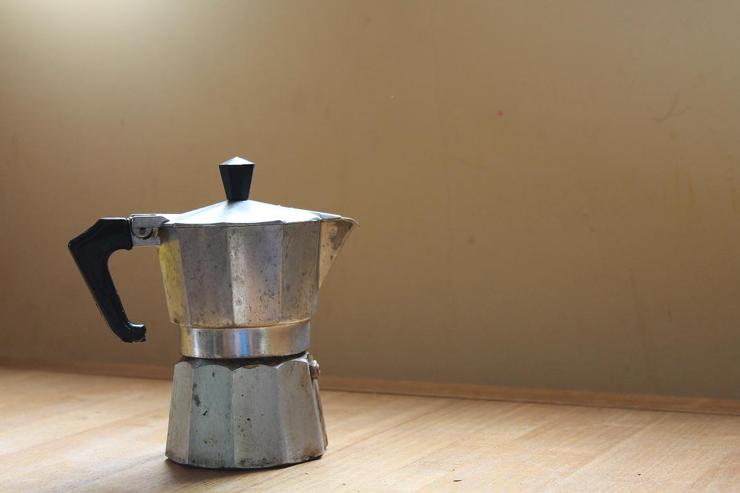 A picture of a coffeepot