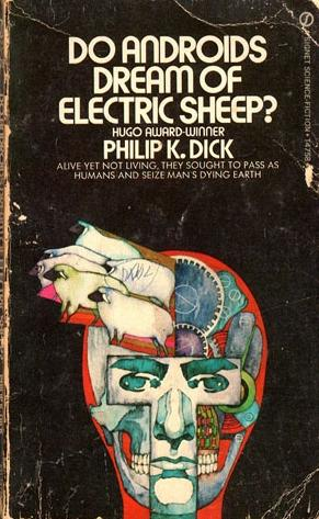 A picture of a Philip K. Dick book