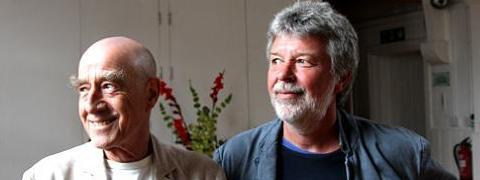 A picture of Albert Hofmann's biographers
