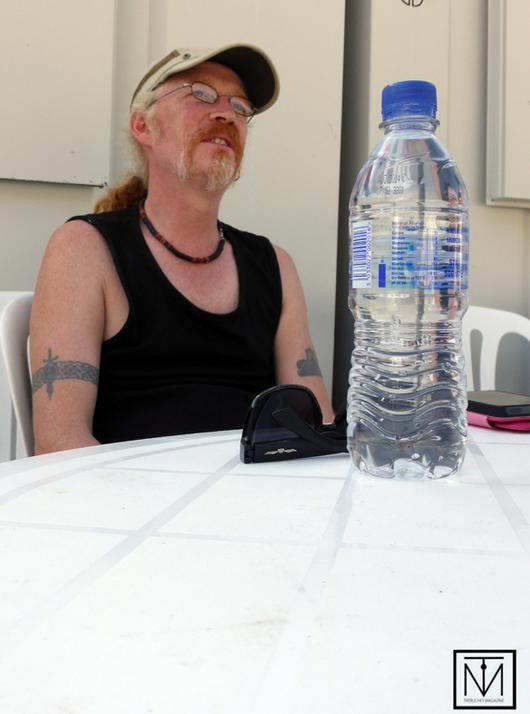 A picture of Simon Friend from The Levellers
