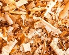 A picture of sawdust, wood shavings, wood, abstract
