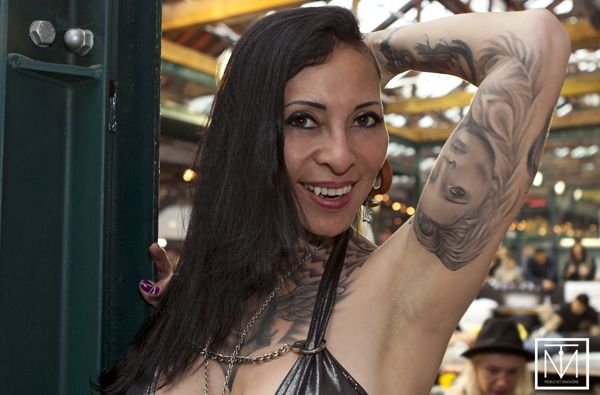A picture of London Tattoo Convention by Carl Byron Batson