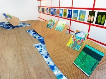 A picture of Charlie Billingham's Tender at Ceri Hand Gallery
