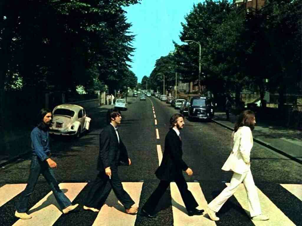 A picture of Abbey Road by the Beatles