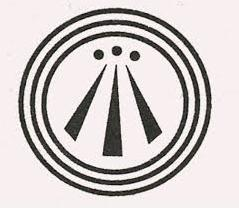A picture of the Awen symbol