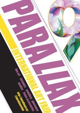 A poster for Parallax art fair 2014