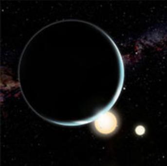 Binary star Planet system