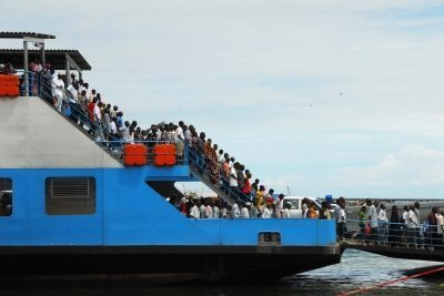 A picture of a ferry