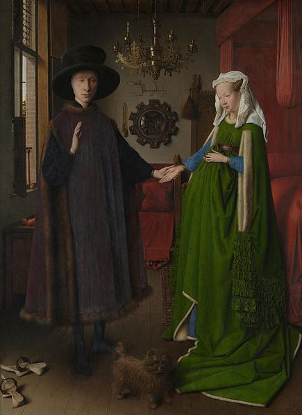 The Arnolfini Wedding by Jan Van Eyck
