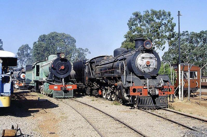 Bulawayo railway museum by H.G.Graser