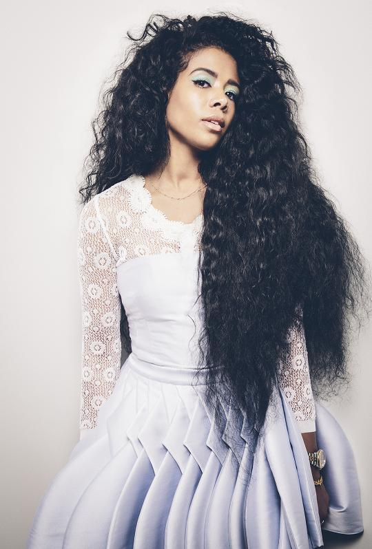 hair styling long hair kelis food trebuchet magazine 7230 | kelis