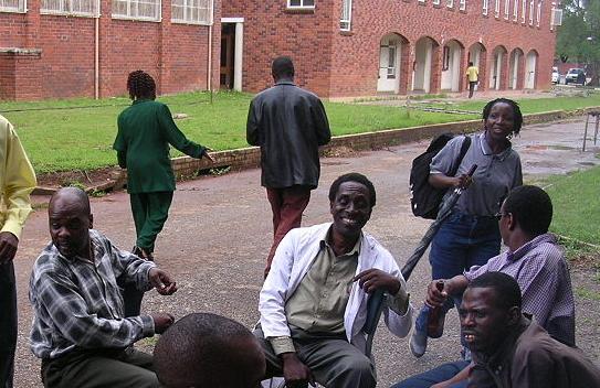University of Zimbabwe students by Babakathy