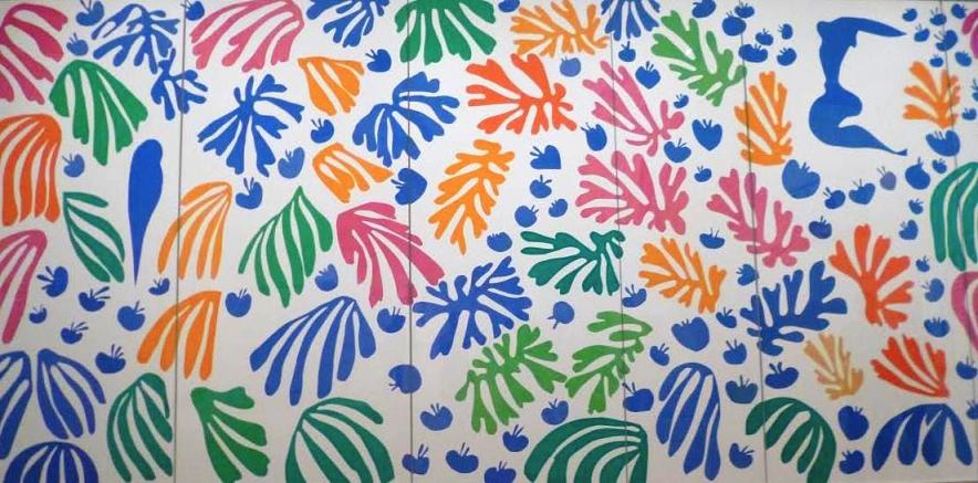 A Matisse Cutout