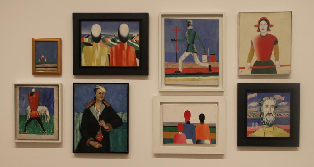 Kazimir Malevich - Multiple artworks
