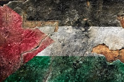 Palestine flag by Freedigital/domdeen