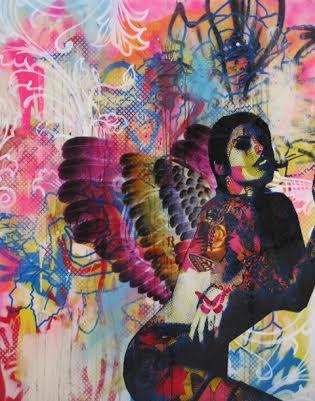 Amy Winehouse artwork by Ben Allen Lovebuzz