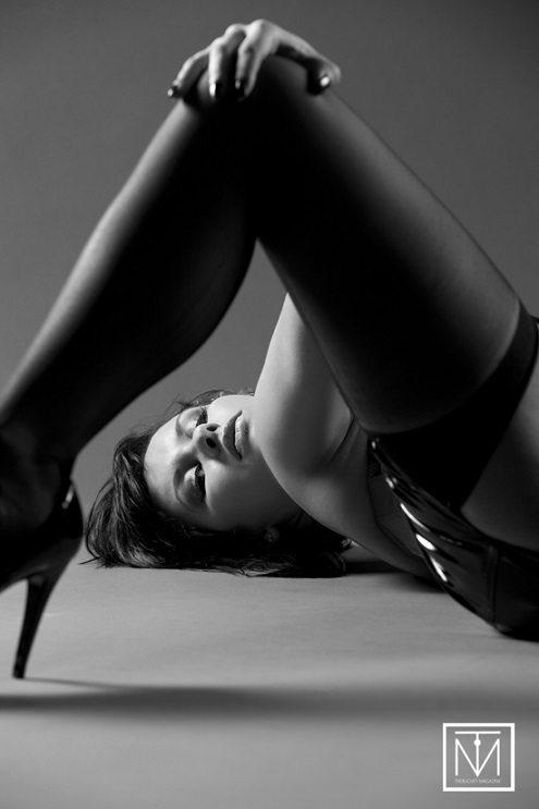 reclining woman by Carl Batson