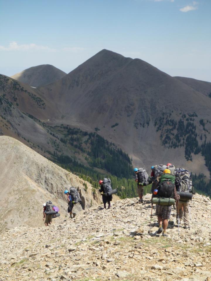 hikers by M.O'Shea/ KSU