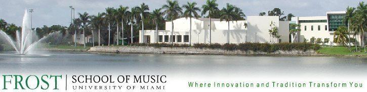 Frost School of Music, Miami