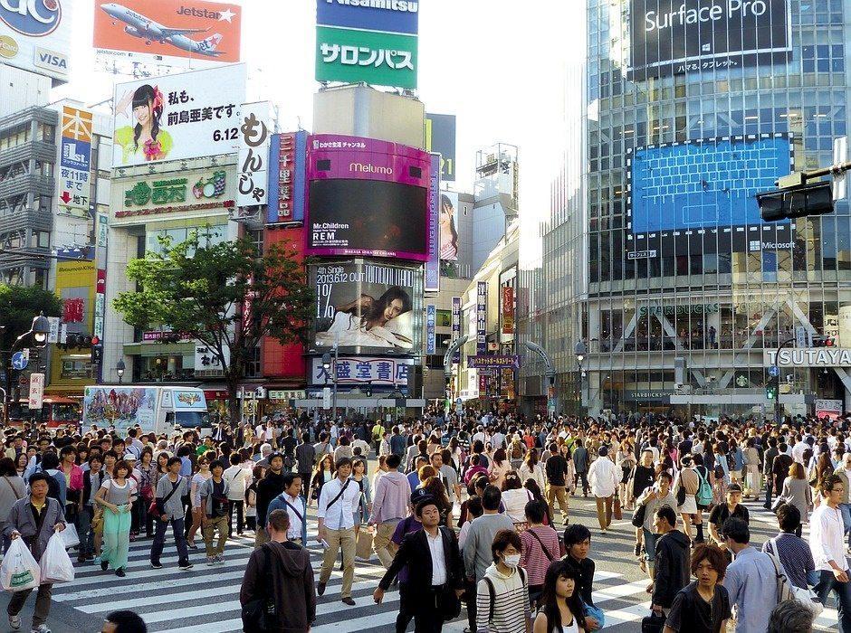 japan crowd