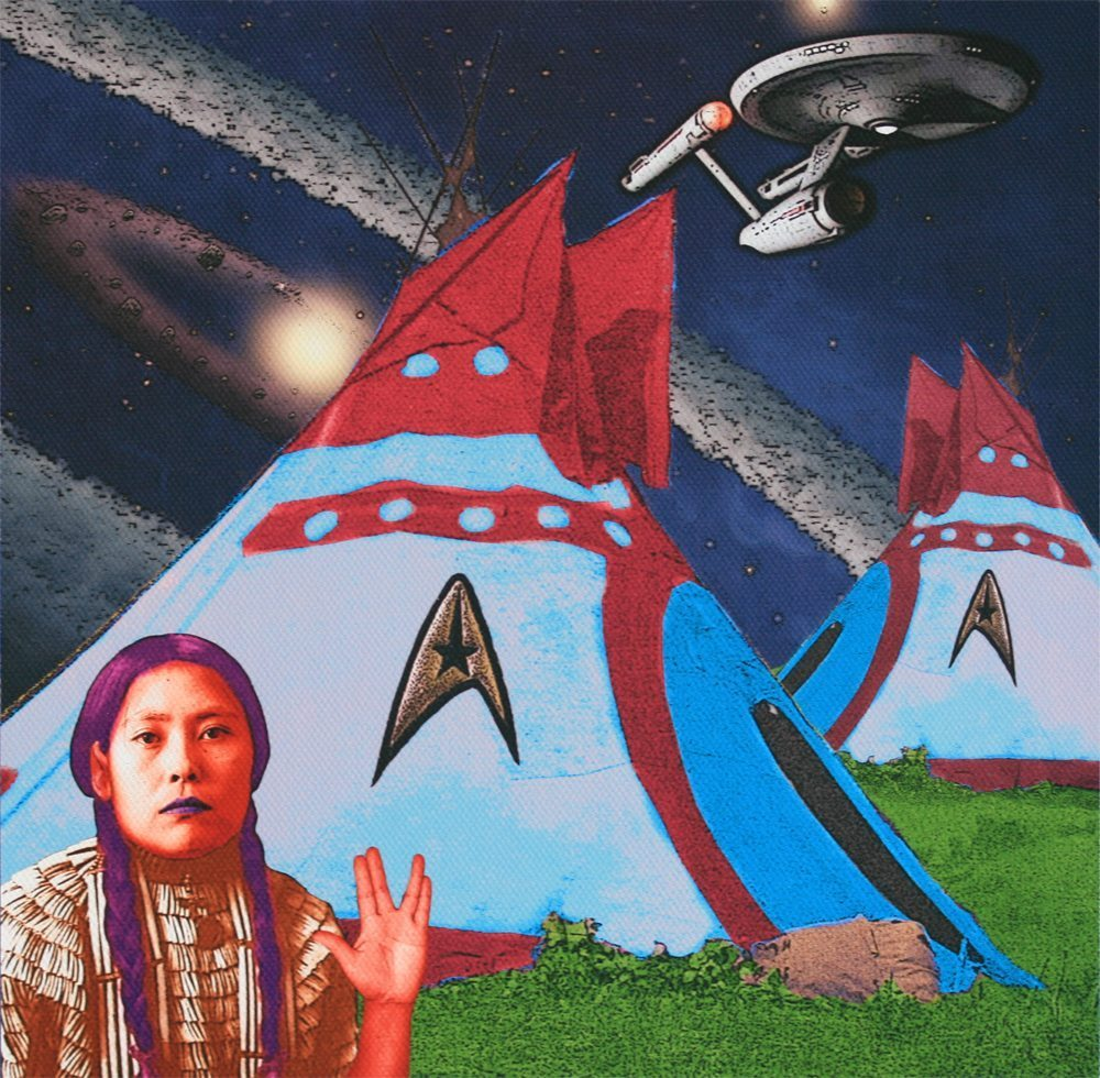 """""""Live Long and Prosper - Spock was a half-breed"""" by Debra Yepa-Pappan"""