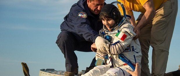 Samantha Cristoforetti by NASA 620
