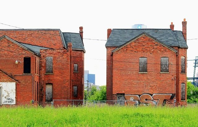 derelict houses by ellemclin