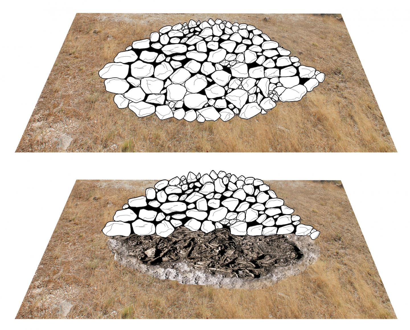 Megalithic mound by University of Basel, Integrative Prehistory and Archaeological Science