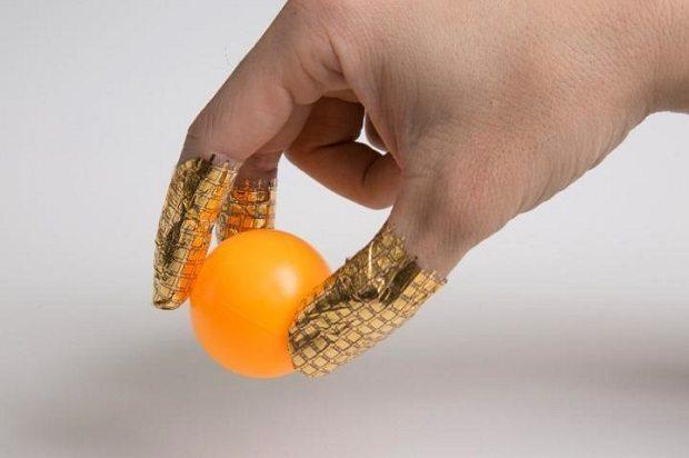 pressure-sensitive rubber gloves