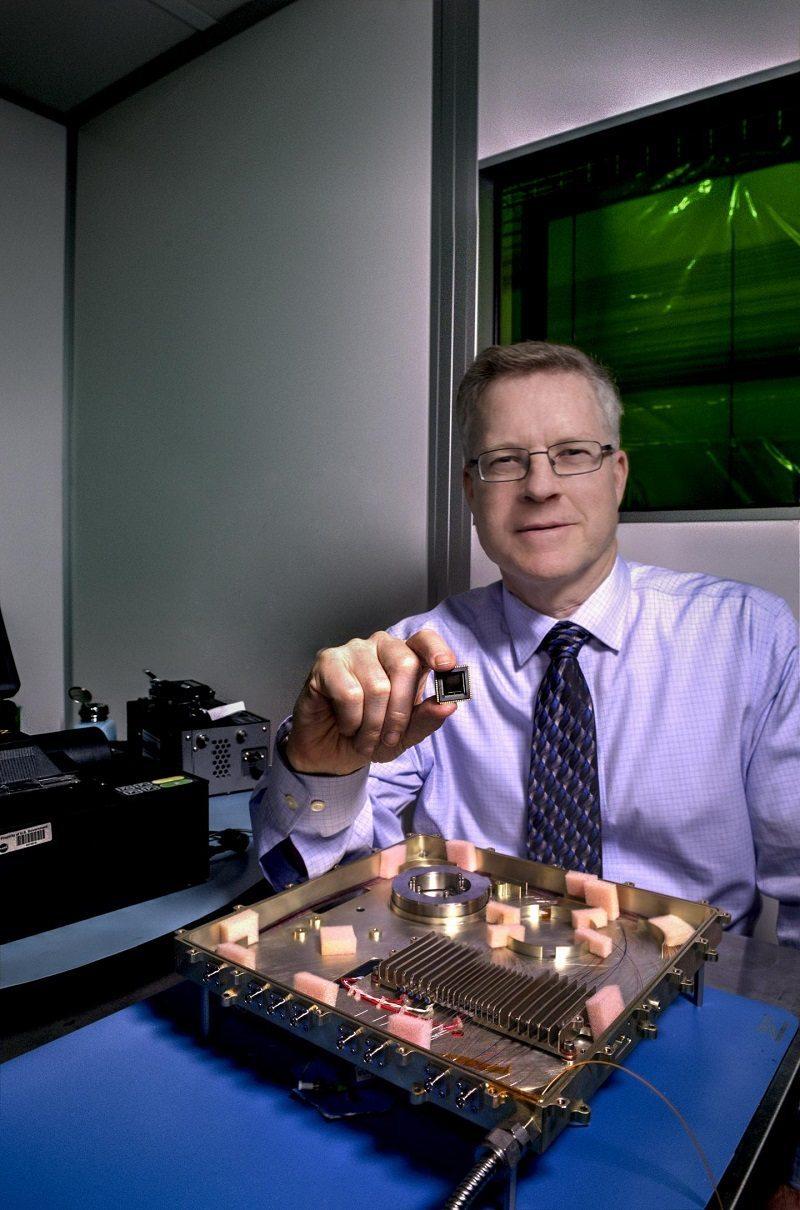 Integrated photonics modem