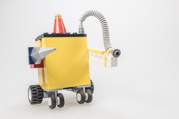 lego robot, soft gripper