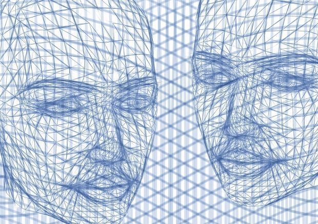 wireframe head , cybathlon
