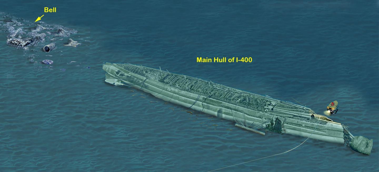 The 1-400 by Terry Kerby, Hawai'i Undersea Research Laboratory University of Hawai'i, mega-submarine