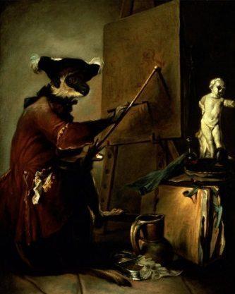 jean-baptiste-simeon-chardin-the-monkey-painter-1740
