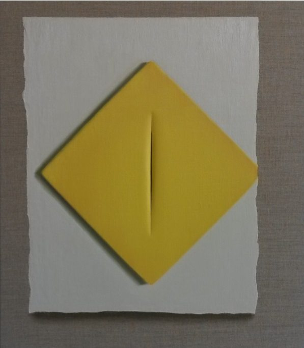 Spatial Concept Yellow, The Original Image