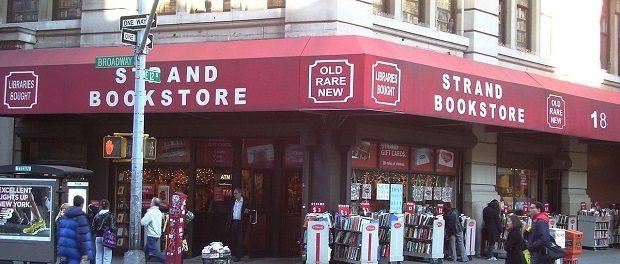 Strnd bookstore